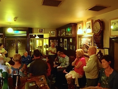 Ballyvaughan, Singalong @ O'Loclainn's Whiskey Bar
