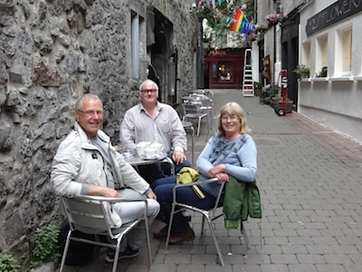Galway, with Paul Mc Kevitt
